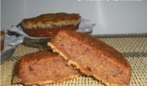 Cake aux dattes, pommes et noix de coco