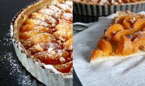 Tarte abricot et cannelle