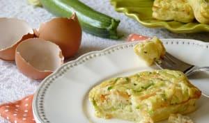 Quiche sans pâte Courgette, Carotte et Curry