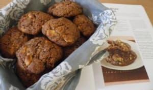 Cookies à la noix de coco et aux deux chocolats