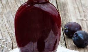 La sauce aux prunes
