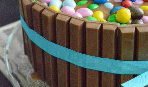 Gâteau KitKat