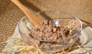 Caviar de noix de cajou et de graines à l'açaï