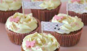 Cupcakes au thé au bonbon