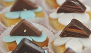 Mini- financier aux pépites de chocolat