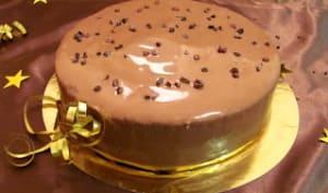 Entremet chocolat - caramel beurre salé