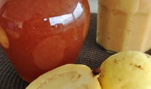 La marmelade et sa gelée de goyaves blanches