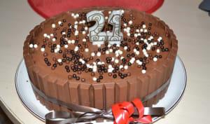 Mon 1er Layer Cake : Tout chocolat