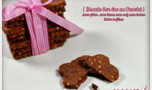 Biscuits aux fibres et chocolat