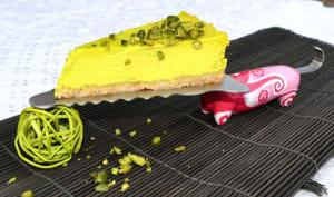 Cheesecake pistache/citron vert