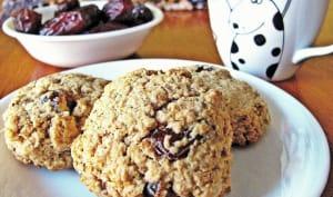 Biscuits irrésistibles à l'avoine et aux dattes Medjool
