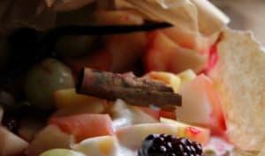 Papillotes de fruits aux épices