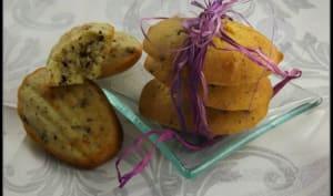 Madeleines Pommes-Chocolat
