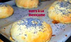 Bun's à la mexicaine