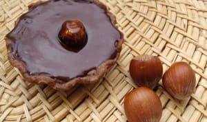 Tartelette chocolat et noisette
