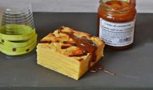 Gâteau pommes / calvados
