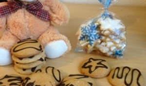 Pains d'épices fourrés à la confiture de Noël