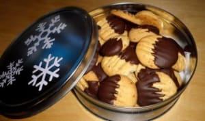 Sablés pralin et chocolat