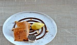 Chocolat, panais, banane, noisettes autour de la truffe noire d'Uzès