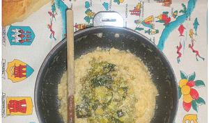 Risotto de légumes avec Riso gallo