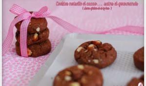 Cookies noisette et cacao