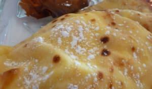 Crêpes soufflées au Pommeau