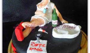 Gâteau nouvel an infirmières aide-soignantes