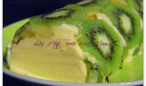 Terrine kiwi-banane-abricot