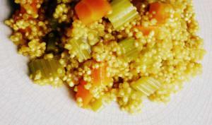 Quinoa Carotte Céleri et épices