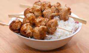 Brochette Yakitori au poulet