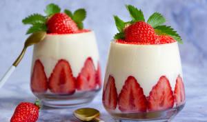 Tiramisu aux fraises de Christophe Felder