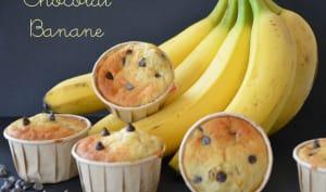 Muffins buttermilk chocolat banane
