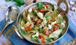 Mulligatawny soupe indienne