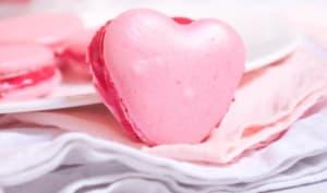 Macarons coeur