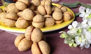 Mignardises italiennes noisette et chocolat