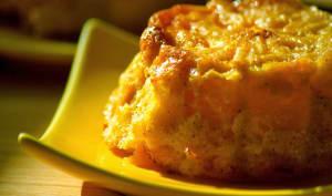 Mini bread puddings à la clémentine
