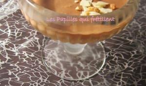 Mousse au lait chocolat au lait croquante