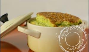 Soufflés au brocoli