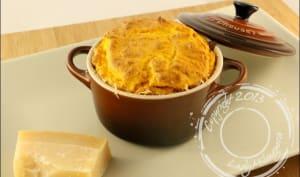 Soufflés au potimarron et parmesan