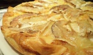 Tarte rustique à l'andouille et camembert de Vire