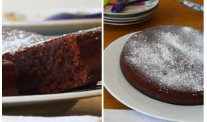 Torta Caprese chocolat