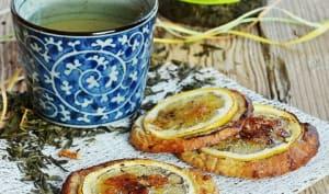 Biscuits citron / noix