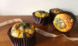 Muffins à la courge buttercut et cidre
