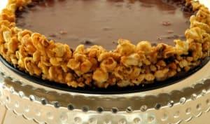 Tarte au maïs soufflé et à la cacahuète