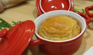 Cocottes façon pâté de pommes de terre
