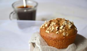 Muffins au café et aux dattes
