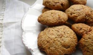 Cookies complets aux pépites de chocolat au lait
