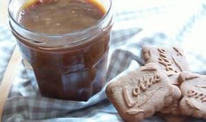 Caramel au beurre salé et spéculoos