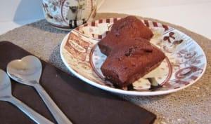 Mini-cake chocolat noix de coco