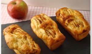 Mini cakes aux pommes et à la purée d'amandes sans gluten et sans lactose